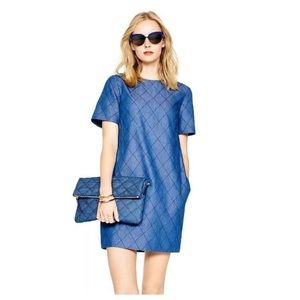 Kate Spade | Quilted Chambray Shift Dress